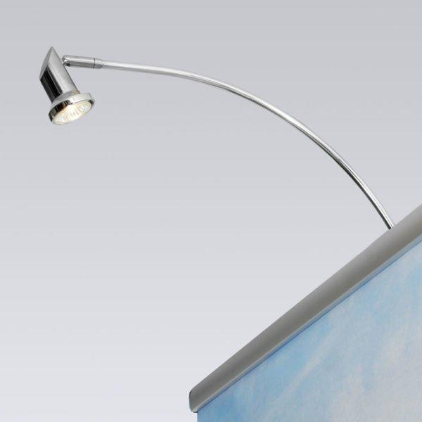 Klapprahmen Lampe